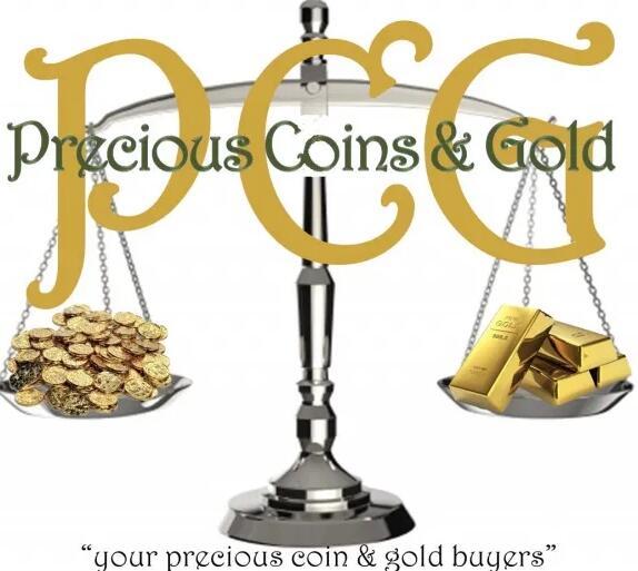 珍贵的硬币和黄金为客户提供有关贵重物品的教育