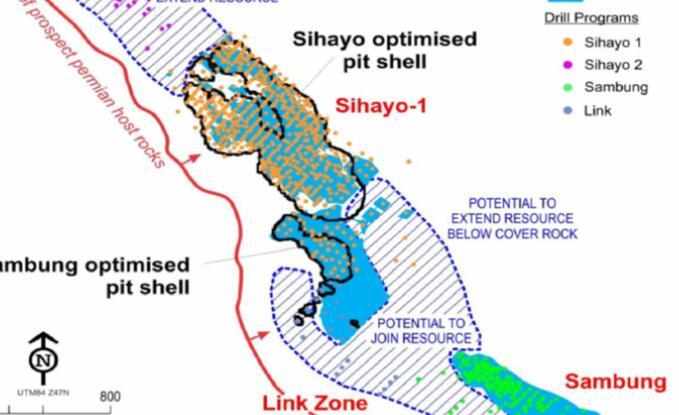 Sihayo加强了散装印尼金矿的案例