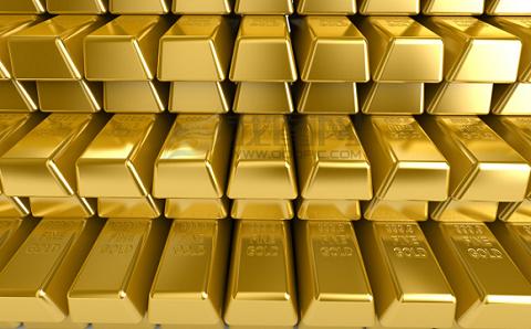 黄金价格下跌因为通货膨胀率上升收益率上升