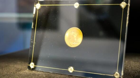 美国金币在苏富比拍卖会上以创纪录的1950万美元成交