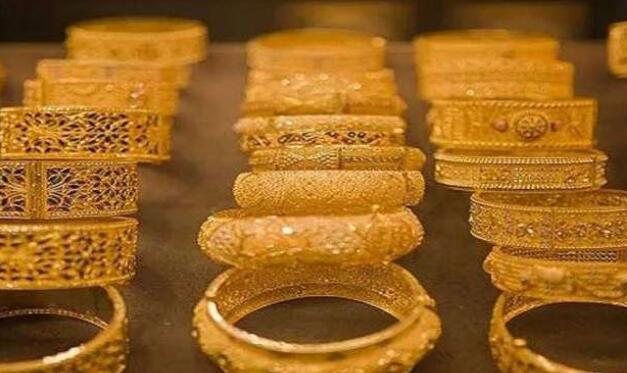 今日黄金价格:黄金下跌123卢比 白银下跌206卢比