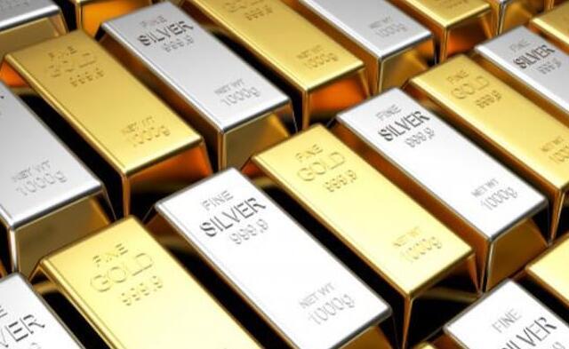 今天的黄金和白银价格