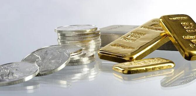 周二黄金和白银都在多商品交易所的低位交易