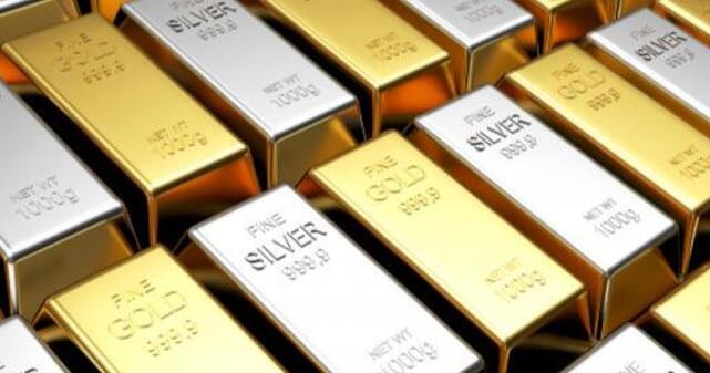 黄金和白银都在多商品交易所的较高侧交易