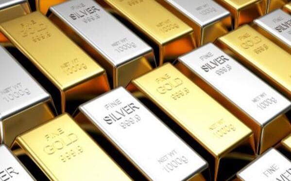 周三黄金和白银都在多商品交易所的低位交易
