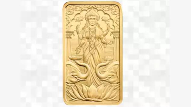 为了庆祝排灯节 英国皇家铸币局推出了首款以印度教神为主题的金条