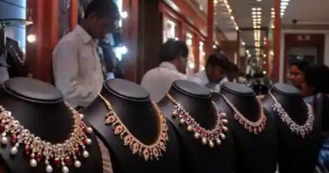 今日印度金价维持近6个月低点 白银大跌后挣扎